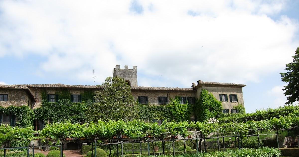 The Hungry Ballerina Badia A Coltibuono A Winery In Chianti