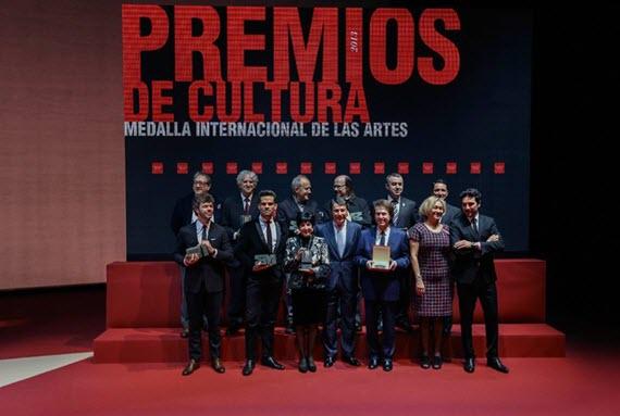 Premios de Cultura y la Medalla Internacional de las Artes 2013
