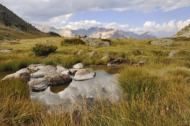Traversée des Alpes, du lac Léman à la Méditerranée Gr5-mont-blanc-briancon-lac-cristol-4