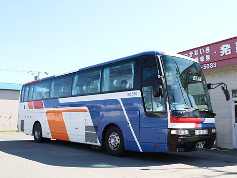 宗谷バス「わっかない号」昼行便 606