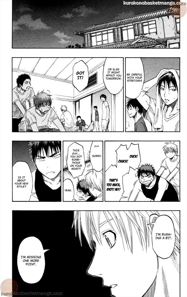 Kuroko no Basket Manga Chapter 59 - Image /0015
