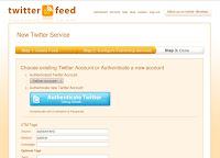 twitterfeed setup step 2