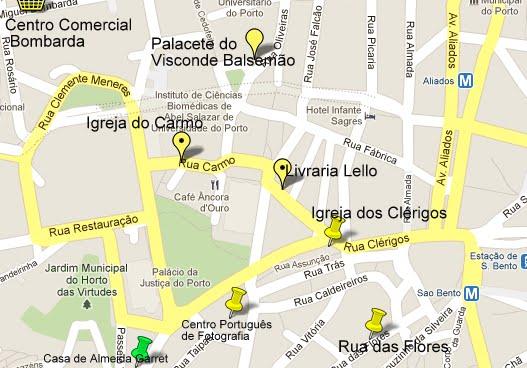 rua de sao bento lisboa mapa Porto, Portugal   Viagem.decaonline.  Dicas de Viagem rua de sao bento lisboa mapa