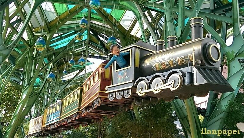 幾米飛天火車 星空號 森林車站 向左走向右走 幾米廣場 宜蘭報報