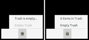 trash indicator applet
