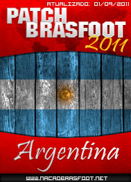 Patch Brasfoot 2011 – Argentina 2011