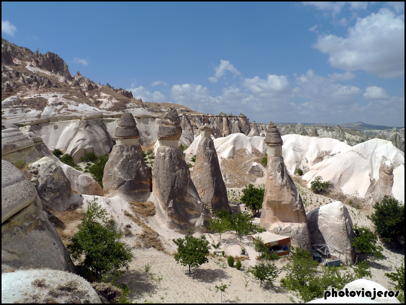 Chimeneas de hadas Capadocia