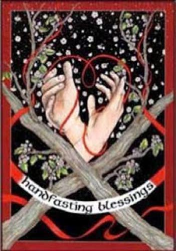 Handfasting O Casamento Wiccano