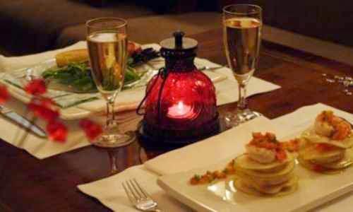 Generar el ambiente romantico para la primera cita