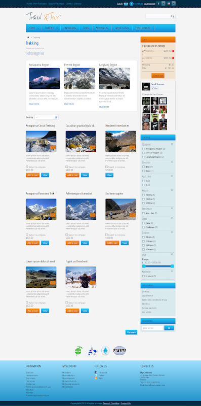 Travel and Tour Template