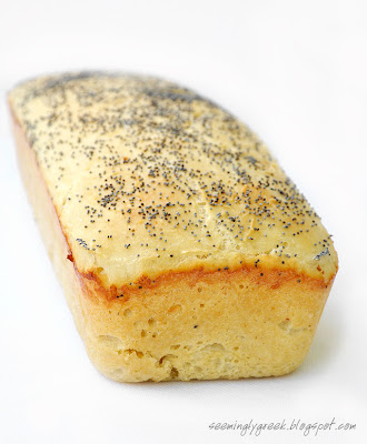 potato bread front Potato Bread with Poppy Seeds