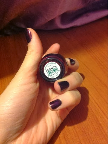 OPI every month is oktoberfest nail polish