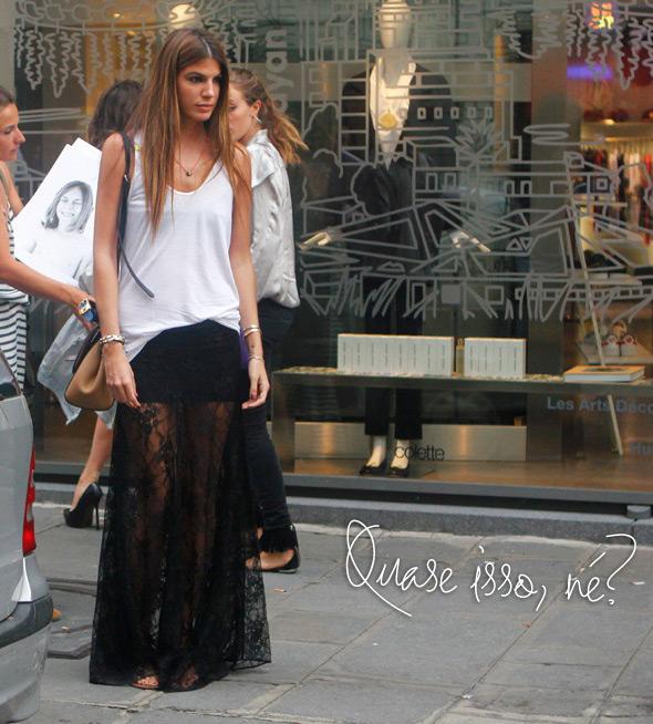 28e9671c68 Help  Dá pra usar minha saia longa em um casamento  - Lu Ferreira ...