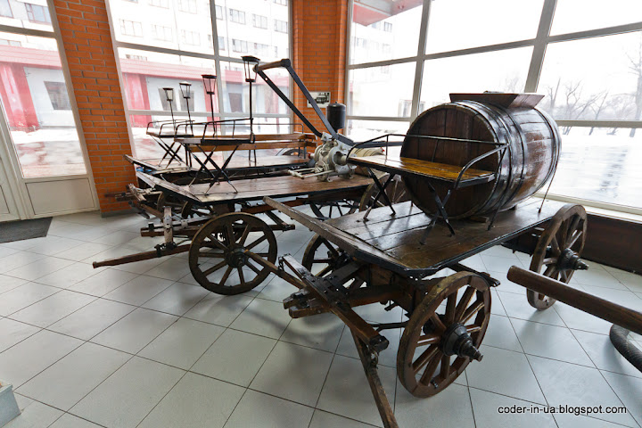 музей пожарного дела.пожарная часть.киев