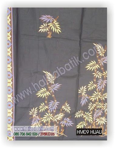 Gambar Baju Batik, Model Kain Batik, Grosir Baju Batik, HM09 HIJAU