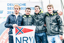 NRV- winners of J/70 Hamburg match race sailing regatta