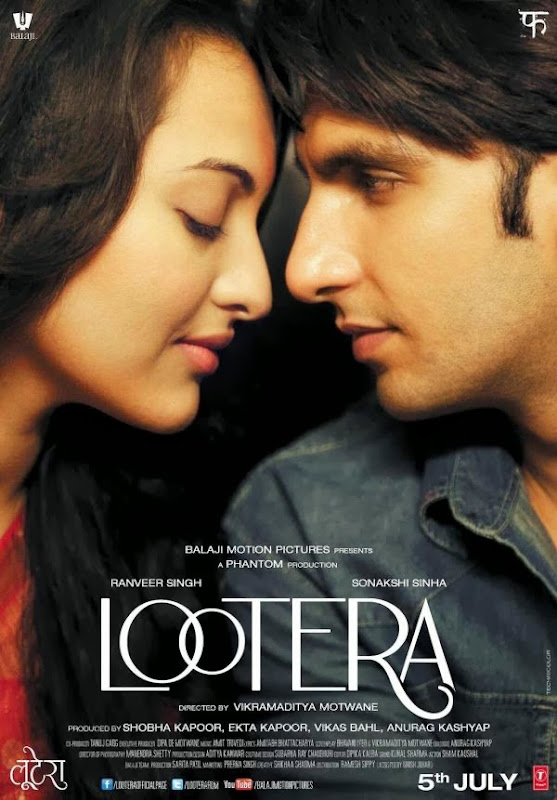 Poster Of Hindi Movie Lootera (2013) Free Download Full New Hindi Movie Watch Online At Alldownloads4u.Com