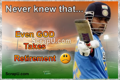 Sachin The God Of Cricket Scraps