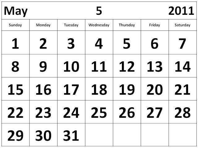 2011 Calendar Printable Pdf. May+2011+calendar+free+