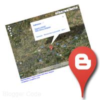 Localisation Blogger avec Google Maps et Google+ Local