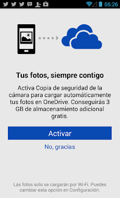OneDrive en Android