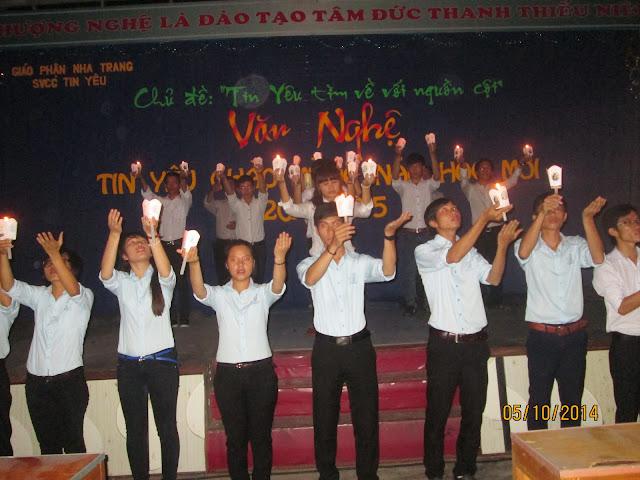 Chương trình Văn Nghệ chào mừng năm học mới của sinh viên Công giáo Tin Yêu Nha Trang