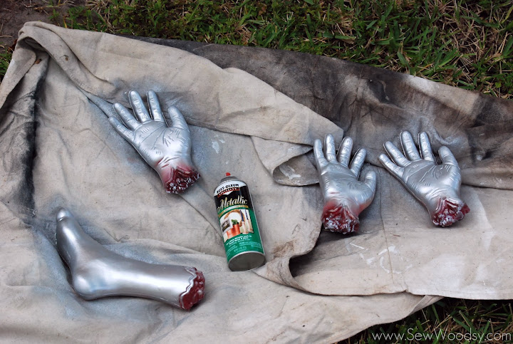 severed limb trophies