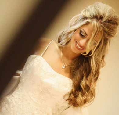 Celebrity Hair Style Nice \u0027Loose Curl\u0027 Long Wedding