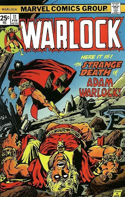 Warlock #11, the Strange Death of Adam Warlock