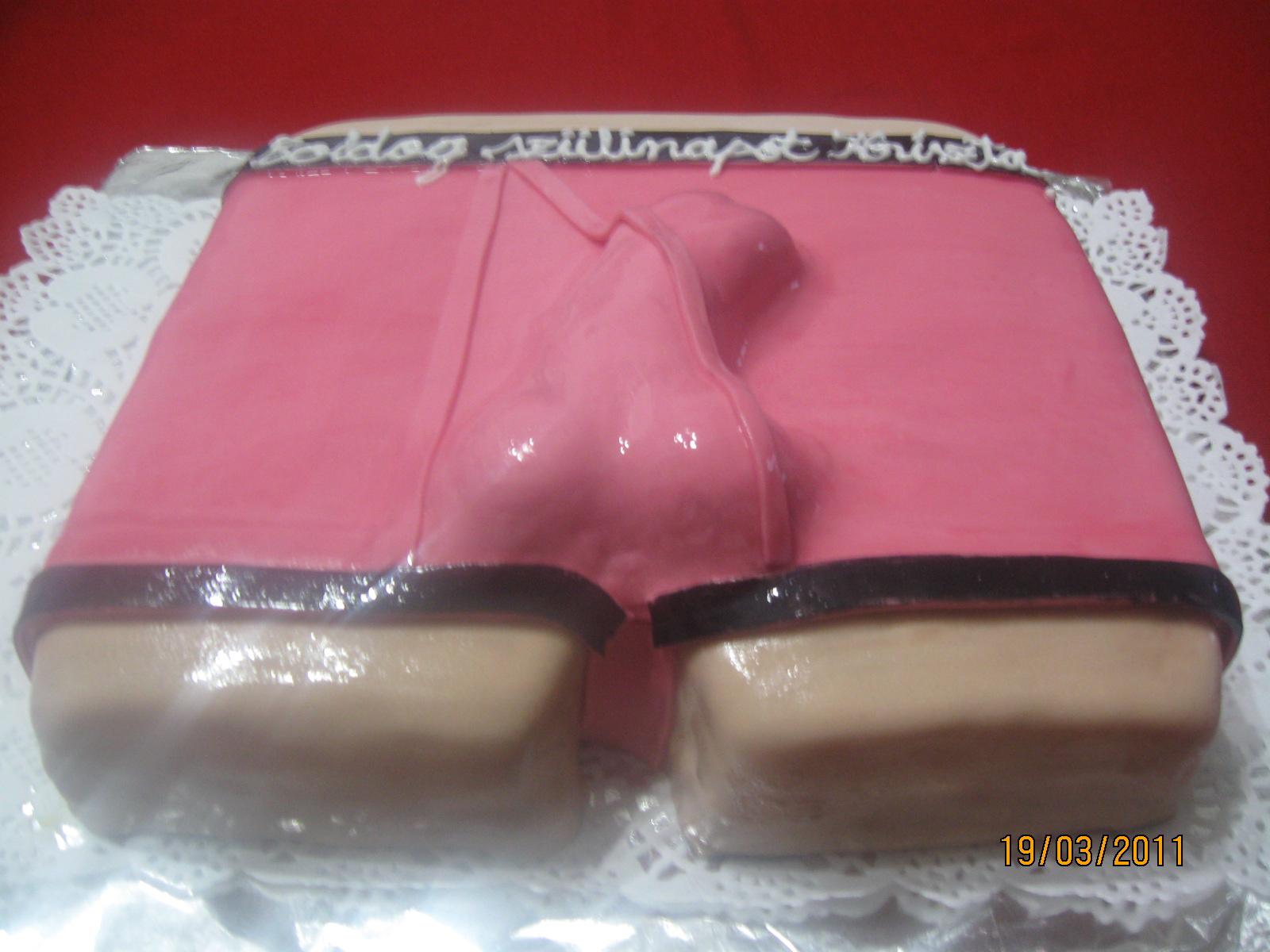 9 éves lánynak szülinapi ajándék angitortai: Férfi alsónemű torta 9 éves lánynak szülinapi ajándék