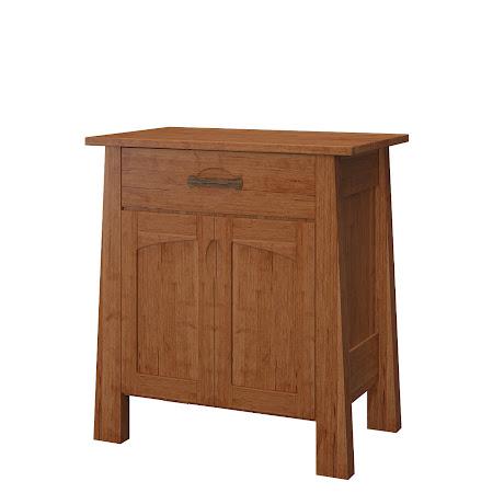 Matching Furniiture Piece: Luxor Nightstand with Door, in Itasca Maple
