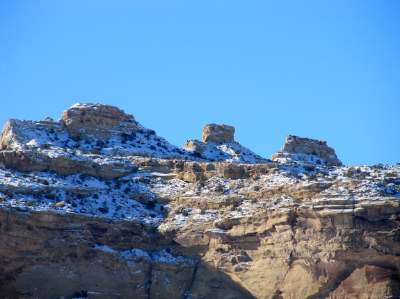 Three peaks on No Man's Mountain