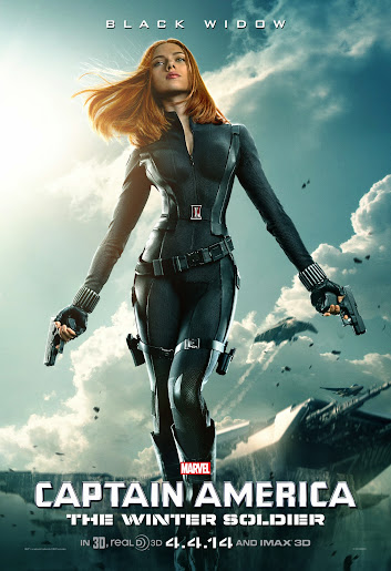 Marvel's Captain America: The Winter Solider - Black Widow #CaptainAmerica