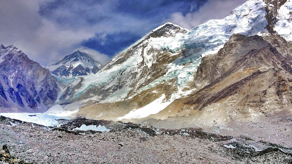 Everest Base Camp from a distance