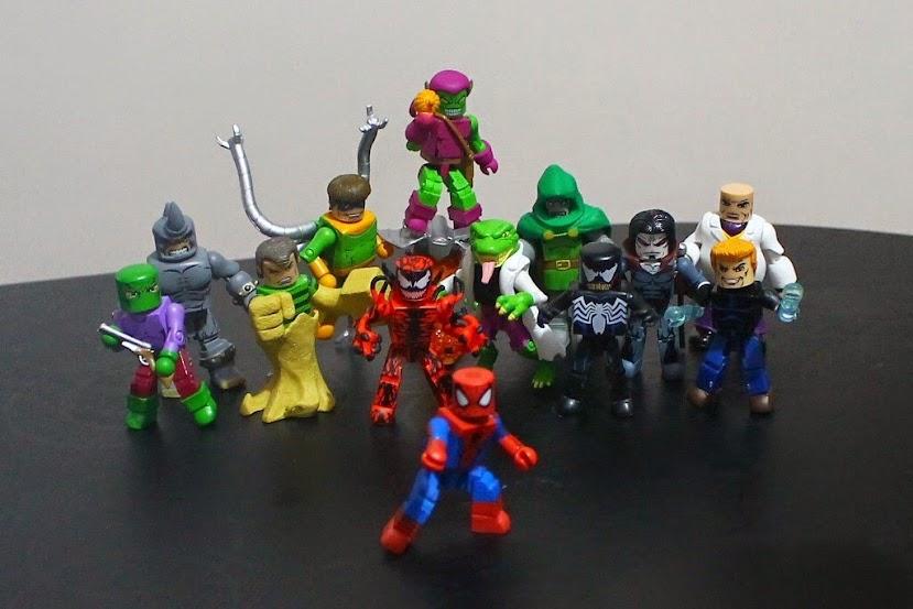 spider-man marvel minimates