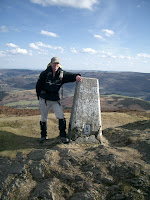 Trig Point on Moel Morfydd