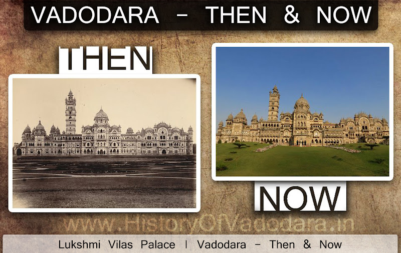 Lukshmi Villas Palace - Then & Now