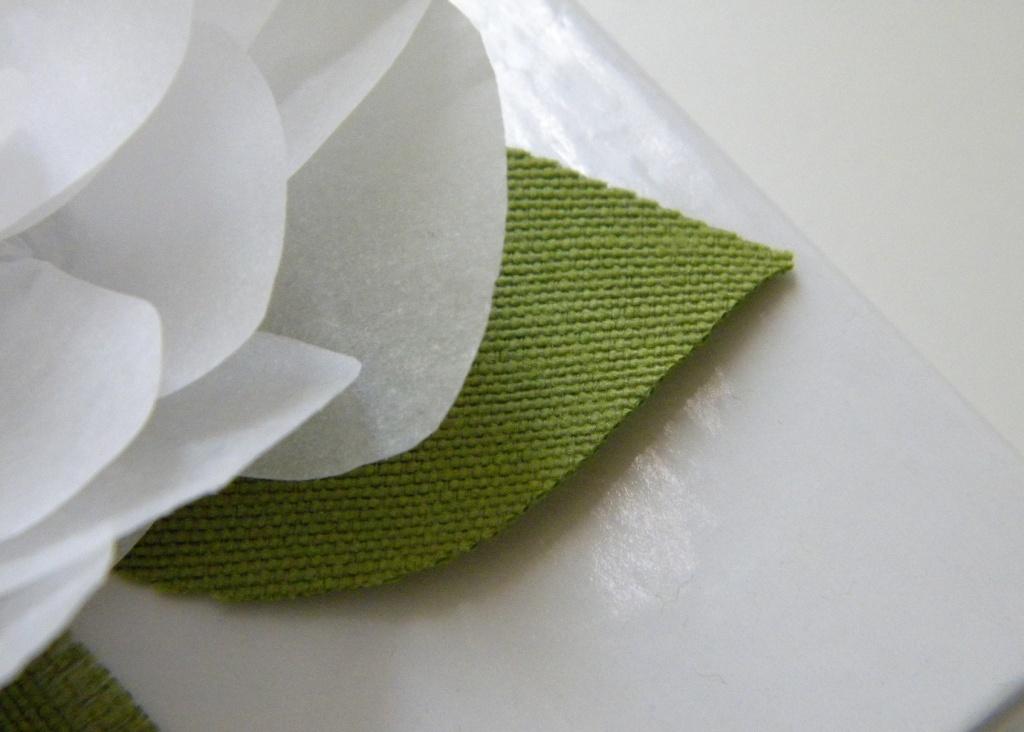 Homework Inkling It S A Wrap White Paper Flower
