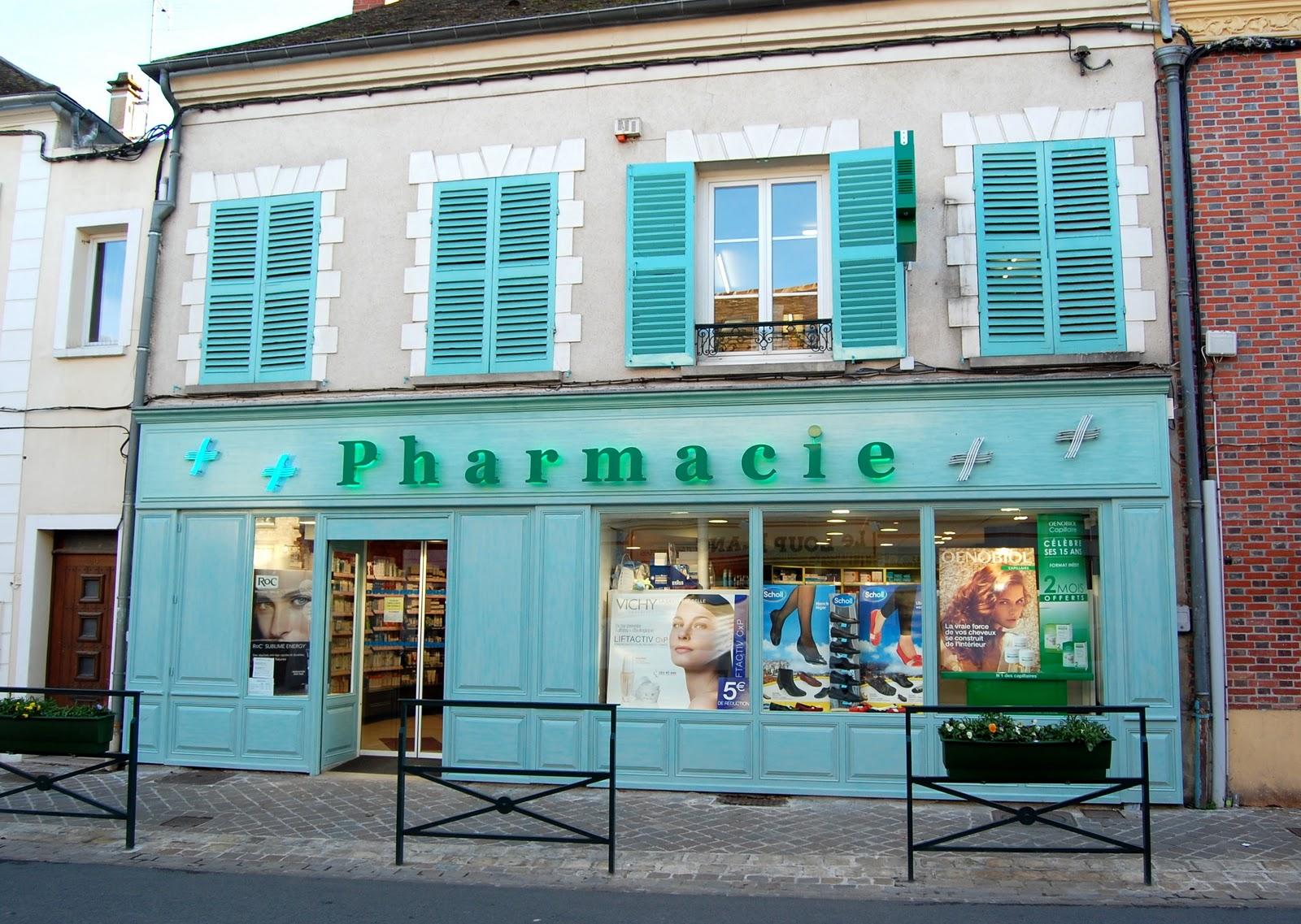 Histoire des commerces de milly la foret n 48 rue grande pharmacie mechin - Pharmacie de garde porte de vincennes ...