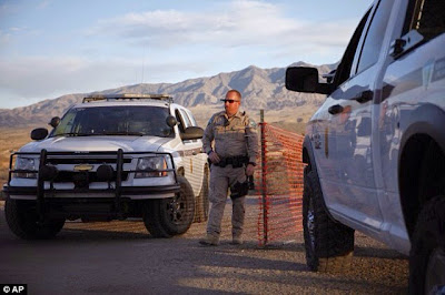 Standoff between Rancher in Nevada and 200 armed federal agents