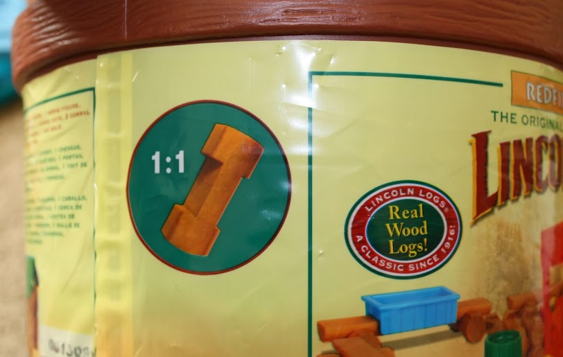 Lincoln Logs are Made with Real Wood - a Classic Since 1916