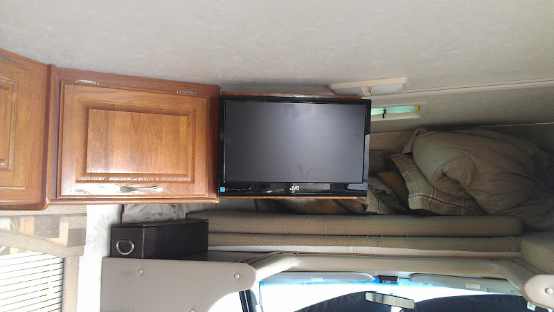 Rv Net Open Roads Forum Travel Trailers Lcd Tv Mounting