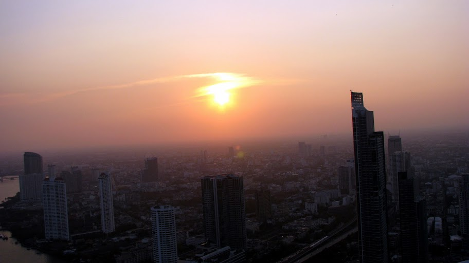 Sunset from Skybar, Bangkok