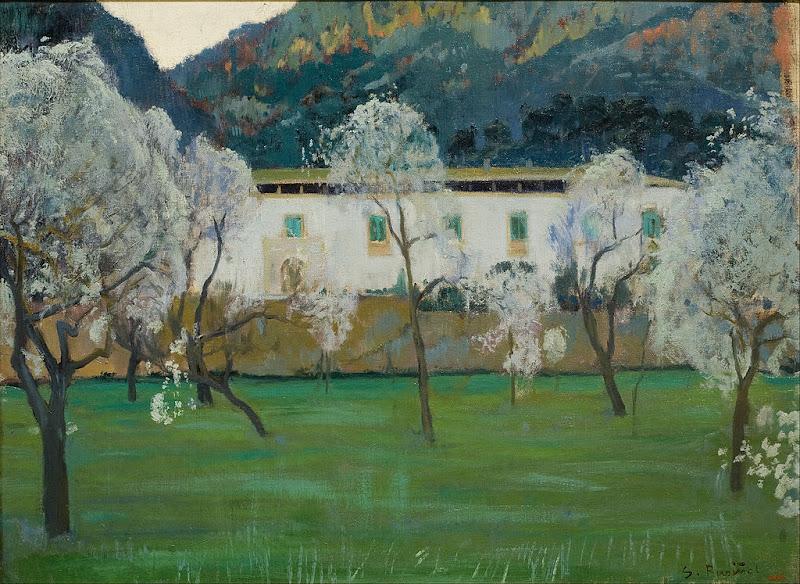 Santiago Rusiñol - White Farmhouse (Bunyola, Majorca)