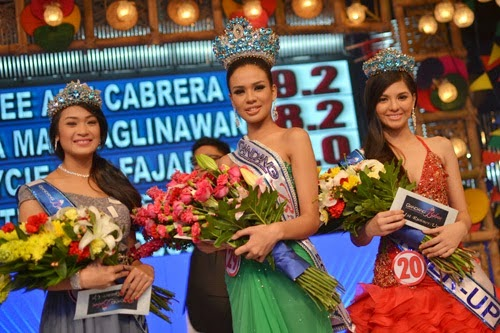 chatterlie mae umalos wins it's dhowtime gandang babae 2014