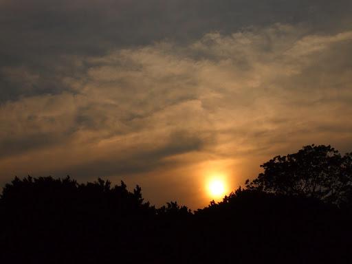 東海湖夕陽