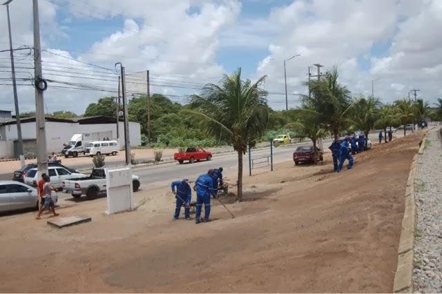 Natal: Prefeitura diz que está levando novo paisagismo à Zona Norte