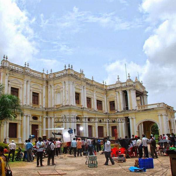 The shooting for DK underway in Mysore.