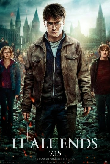 Poster Of English Movie Harry Potter and the Deathly Hallows: Part 2 (2011) Free Download Full New Hollywood Movie Watch Online At alldownloads4u.com