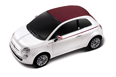 Fiat 500 Nation America White